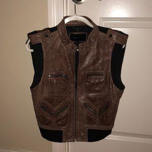 BCBGMAXARIA Moto Vest